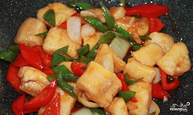 Рыба в кисло-сладком соусе по-китайски - фото шаг 4