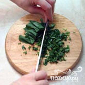Сырное печенье с базиликом - фото шаг 2