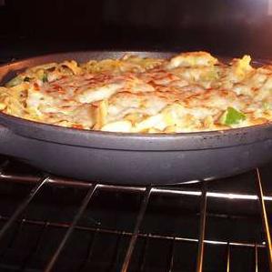 Сырная паста Фриттата - фото шаг 8