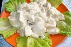 Фрикасе из курицы с сыром