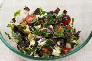 Салат к отбивным - фото шаг 9
