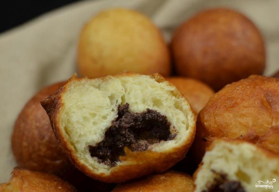 Русские пончики - фото шаг 14