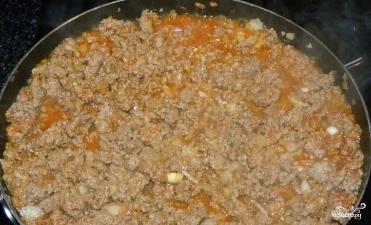 Лазанья с мясом и грибами - фото шаг 2