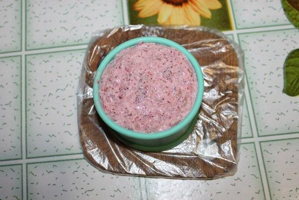 Творожно-земляничное пирожное - фото шаг 7