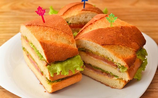 Быстрые бутерброды на стол - фото шаг 10