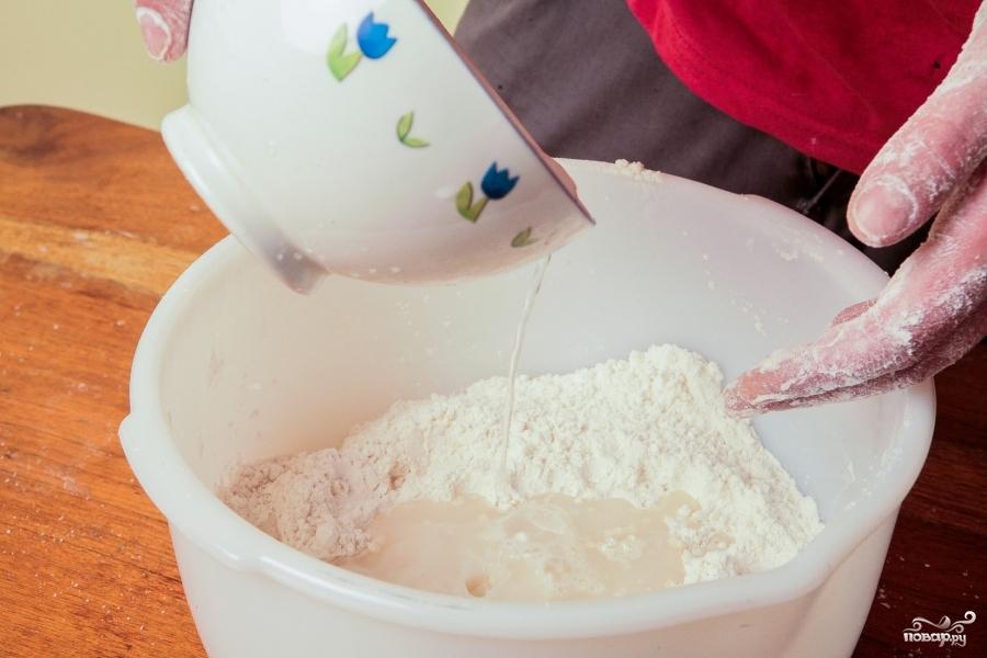 Тортилья пшеничная - фото шаг 1
