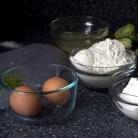 Рецепт Лаймовый пирог с ежевичным соусом