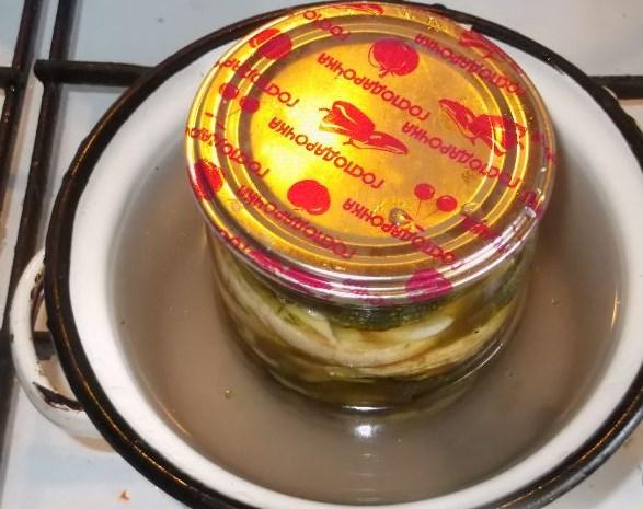 Кабачки жареные консервированные - фото шаг 13