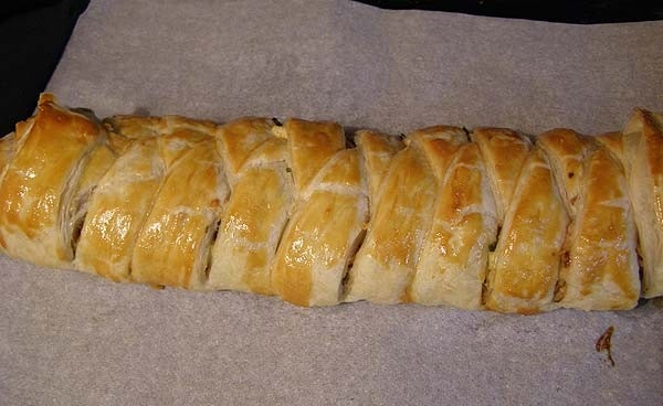 Быстрый пирог с мясом - фото шаг 6