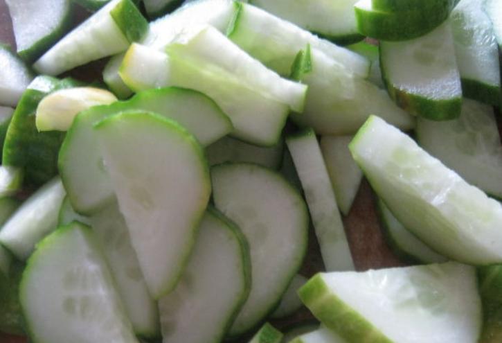 Рецепт Салат из огурцов на зиму без закатки