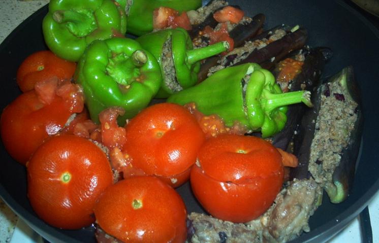 Долма из овощей - фото шаг 5