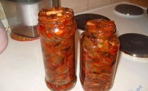 Маринованные опята в томатном соусе - фото шаг 6