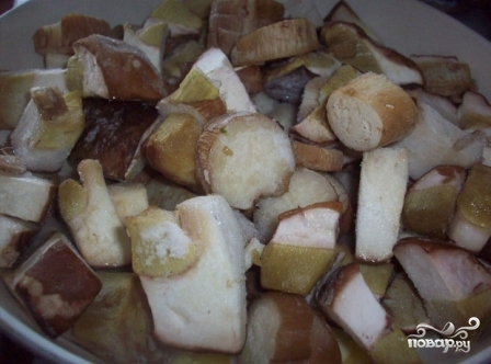 Грибной крем-суп из замороженных грибов - фото шаг 1