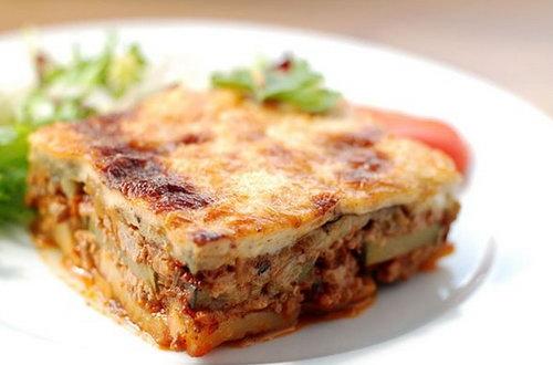 Рецепт Мусака с картофелем и баклажанами