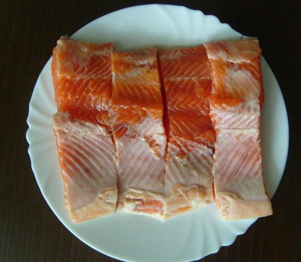 Рецепт Красная рыба в мультиварке