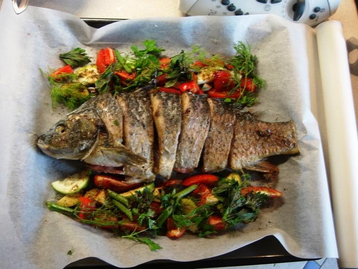 Запеченная рыба - фото шаг 3