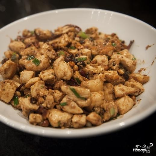 Курица в соусе по-китайски - фото шаг 13