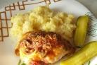 Курица в духовке с сыром и майонезом