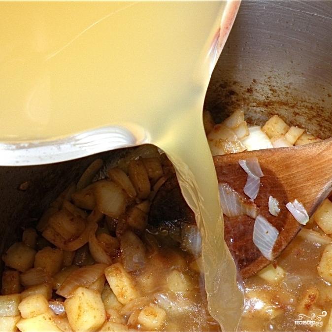 Быстрый картофельный суп-крем - фото шаг 5