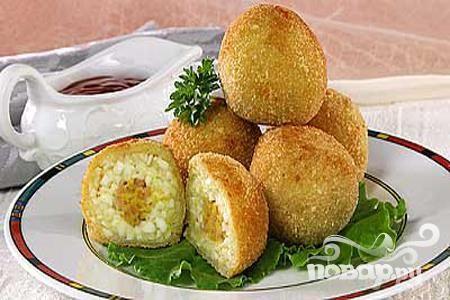 Рецепт Крокеты из яиц