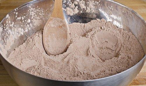 Шоколадный кекс пятиминутный - фото шаг 1