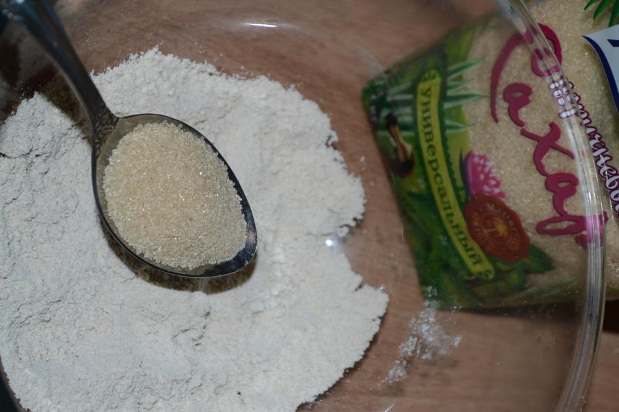 Медовое овсяное печенье - фото шаг 1
