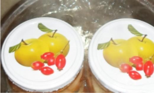 Яблоки в сиропе на зиму - фото шаг 7