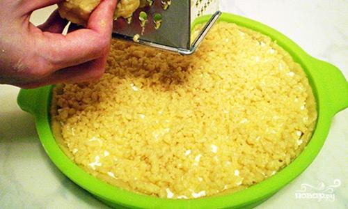 Песочный пирог с творожной начинкой - фото шаг 11