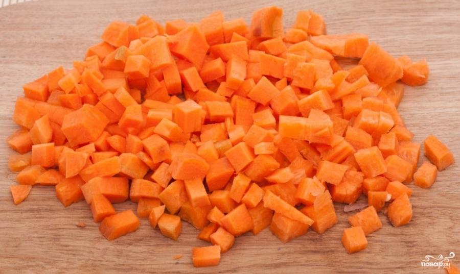 Картофель с копчеными ребрышками - фото шаг 5