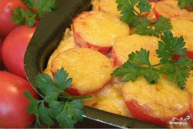 Рецепт Картофель с фаршем в мультиварке