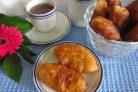 Жареные пирожки с вареньем