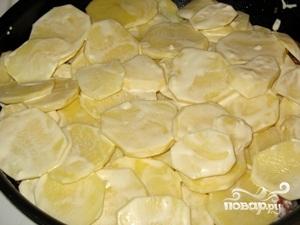 Морской язык с картофелем - фото шаг 6