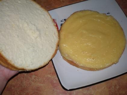 Торт двухъярусный - фото шаг 8