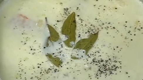 Молочный суп с рыбой - фото шаг 5