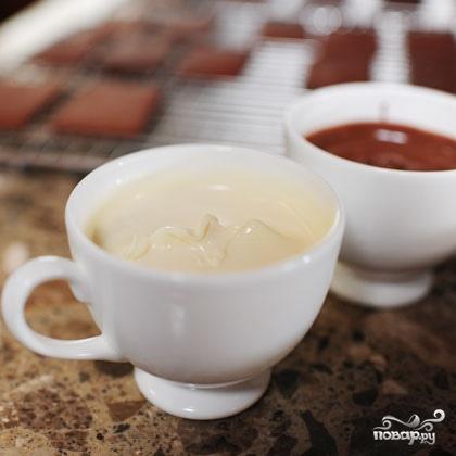 Шоколадное печенье с начинками на выбор - фото шаг 3