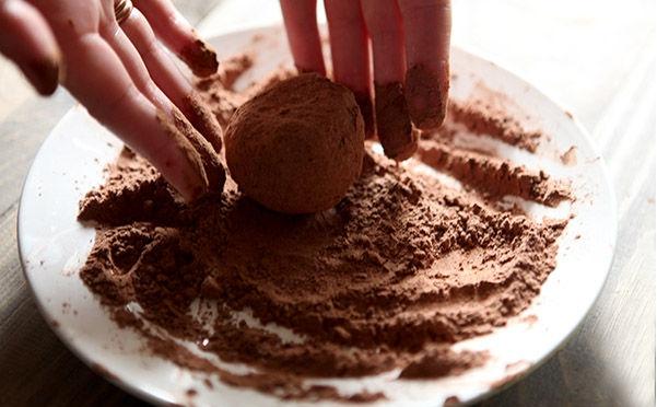 Пирожное картошка из овсяного печенья - фото шаг 2