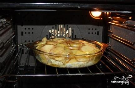 Треска, запеченная с картофелем - фото шаг 6