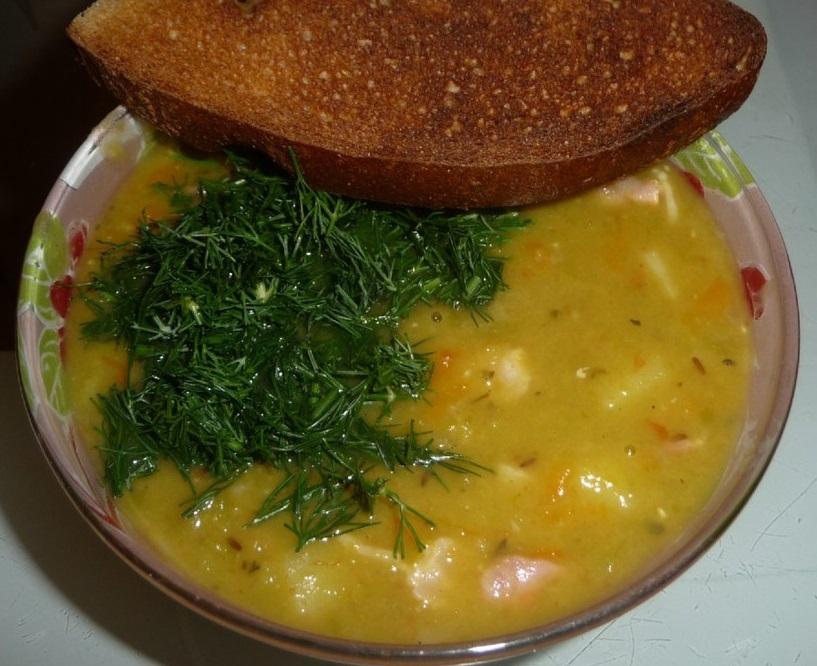 Суп из баранины и гороха - фото шаг 8