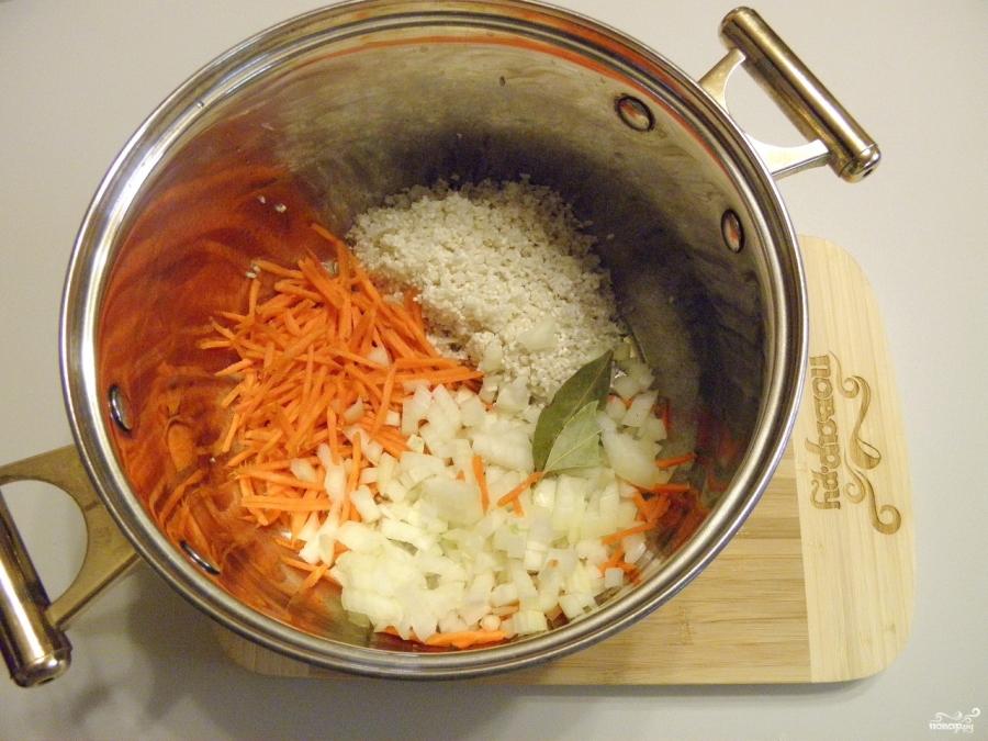 Суп с фрикадельками без картошки - фото шаг 3