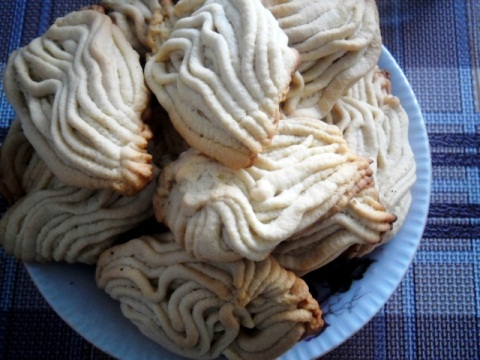 Печенье через мясорубку со сметаной - фото шаг 4