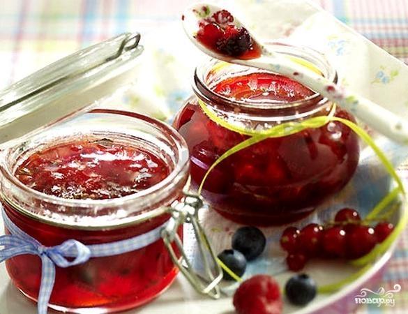 Рецепт Варенье из смородины для диабетиков