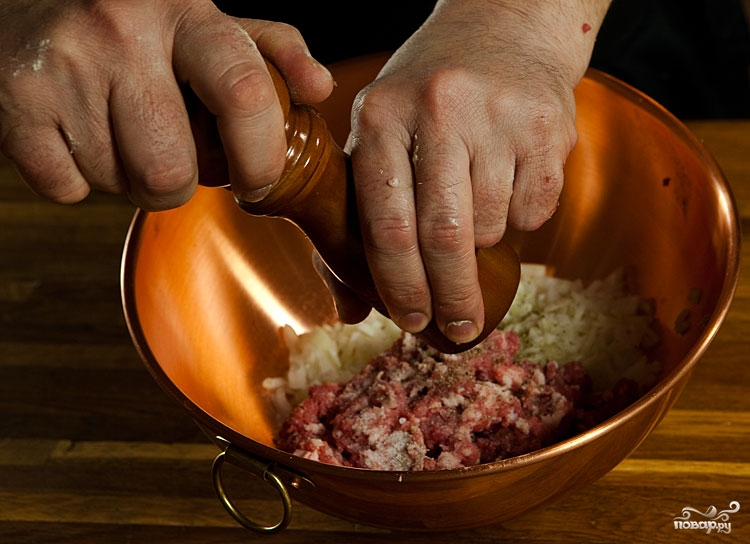 Рецепт Фарш для беляшей