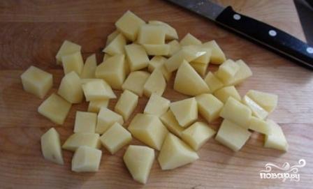 Сырный суп с курицей и грибами - фото шаг 4