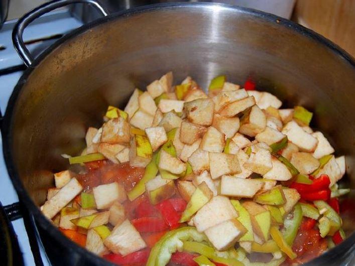 Кавказский суп из баранины   - фото шаг 13