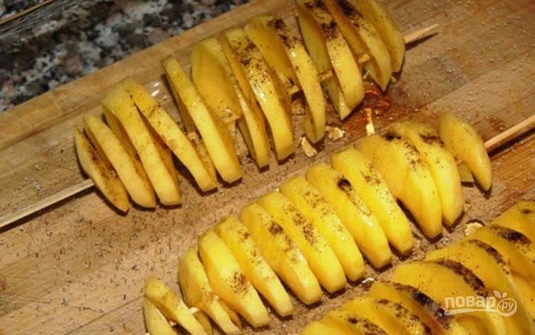 запеченный картофель с курицей в духовке с овощами рецепт #10