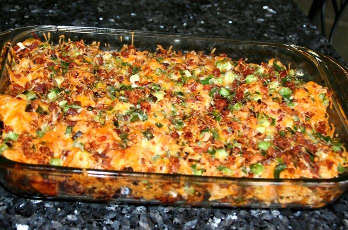Курочка с картошкой в духовке - фото шаг 11