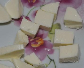Салат с креветками и сыром - фото шаг 4
