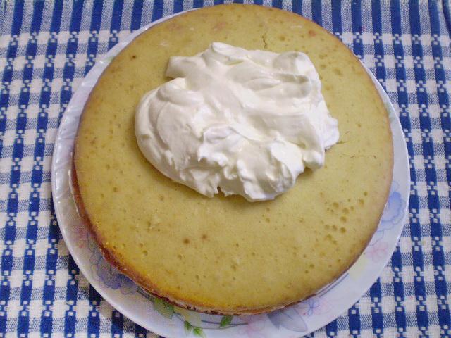 Крем на сметане для бисквита рецепт с пошагово