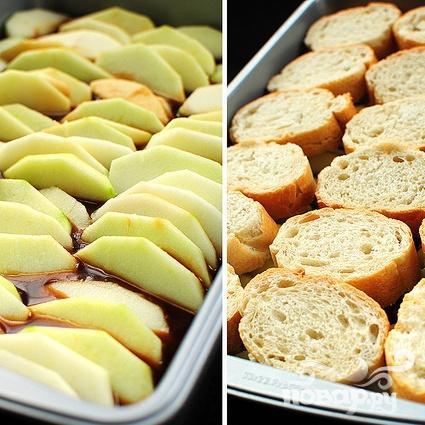 Французские тосты с яблоками и виски - фото шаг 3