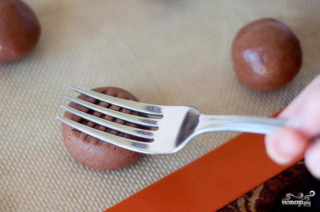 Печенье с Нутеллой и кремом - фото шаг 3